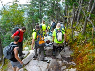 SAR in NH | Pemigewasset Valley Search & Rescue Team